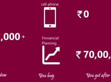 financial planning costs the same as a cell phone